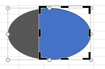 Excelで図形のトリミング