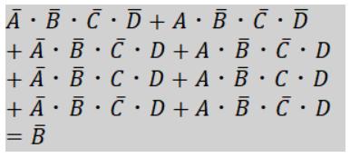 4変数カルノー図簡単化1