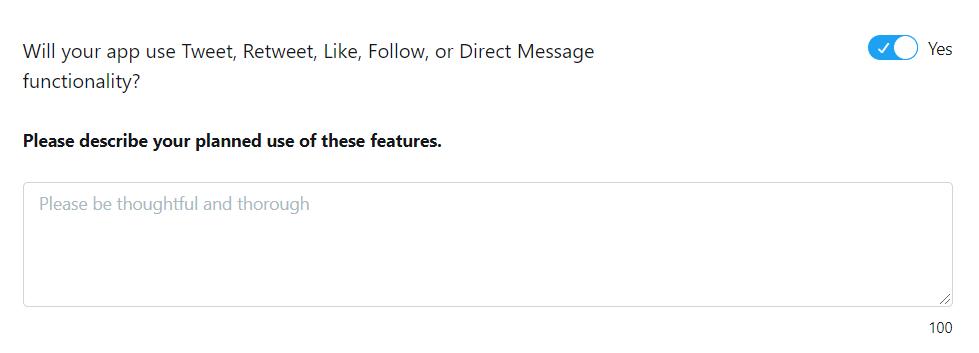 TwitterApiの質問2